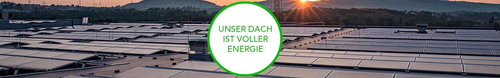 KIRSCH produziert grünen Strom mit eigener Photovoltaikanlage