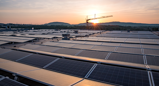Aktuelles und Wissenswertes: Unser Dach ist voller Energie / Photovoltaikanlage