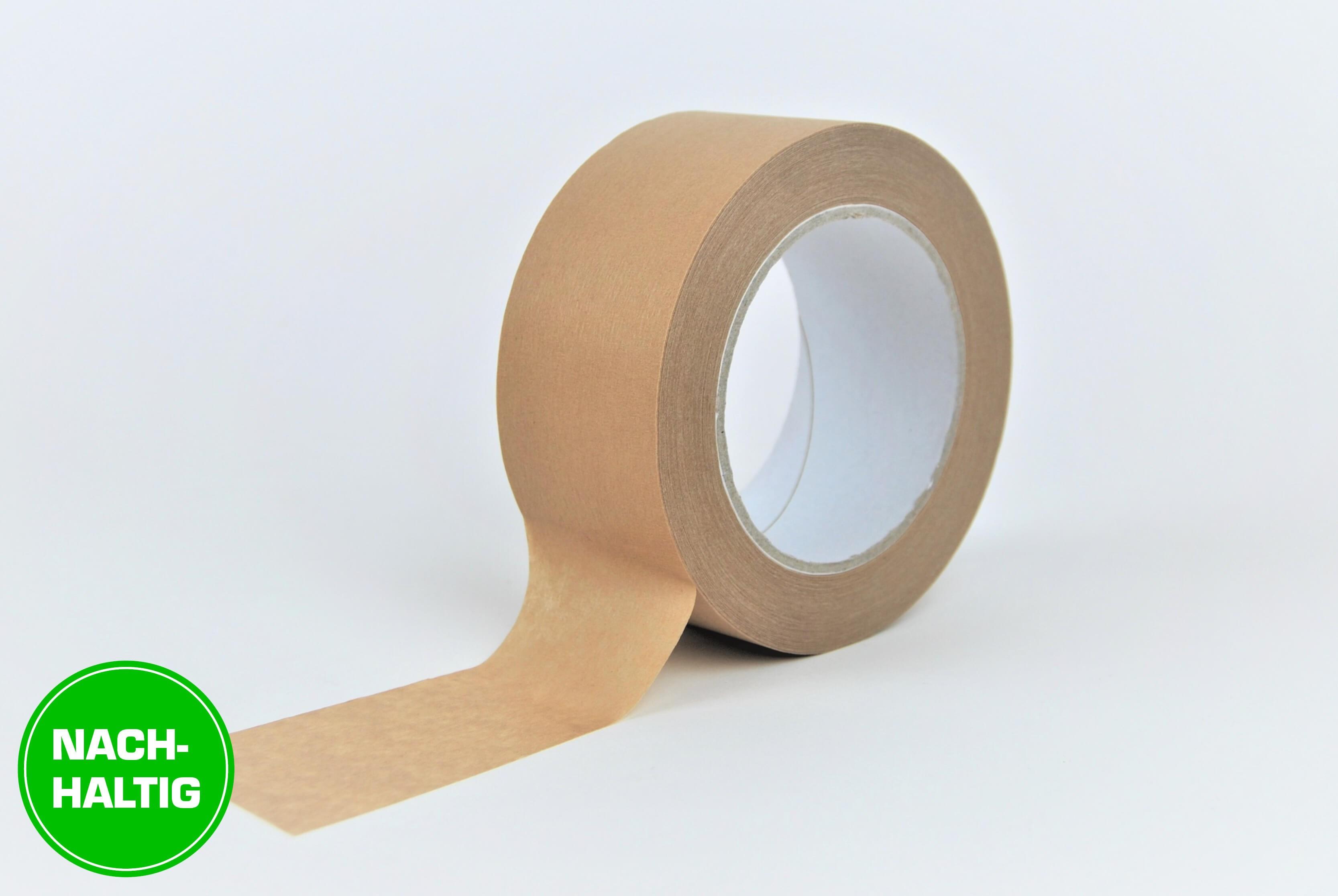 Nachhaltige Verpackungsklebebänder selbstklebend aus Papier