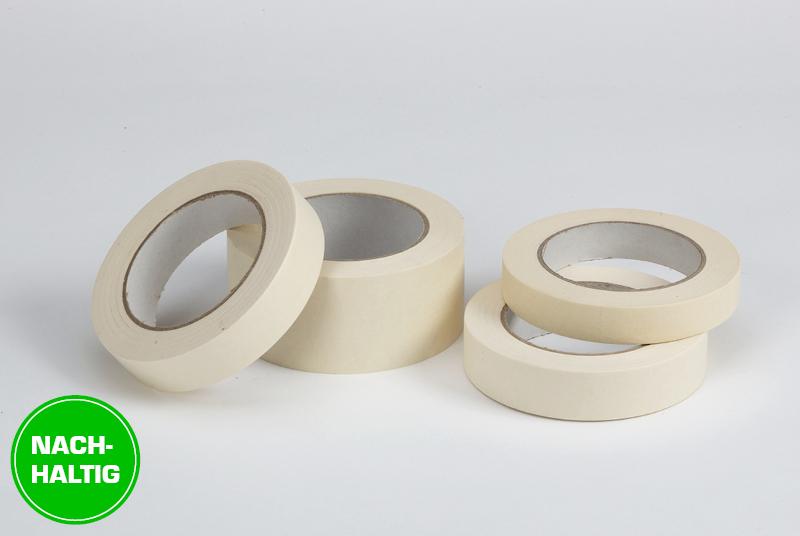 Nachhaltige Krepp-Klebebänder aus Papier