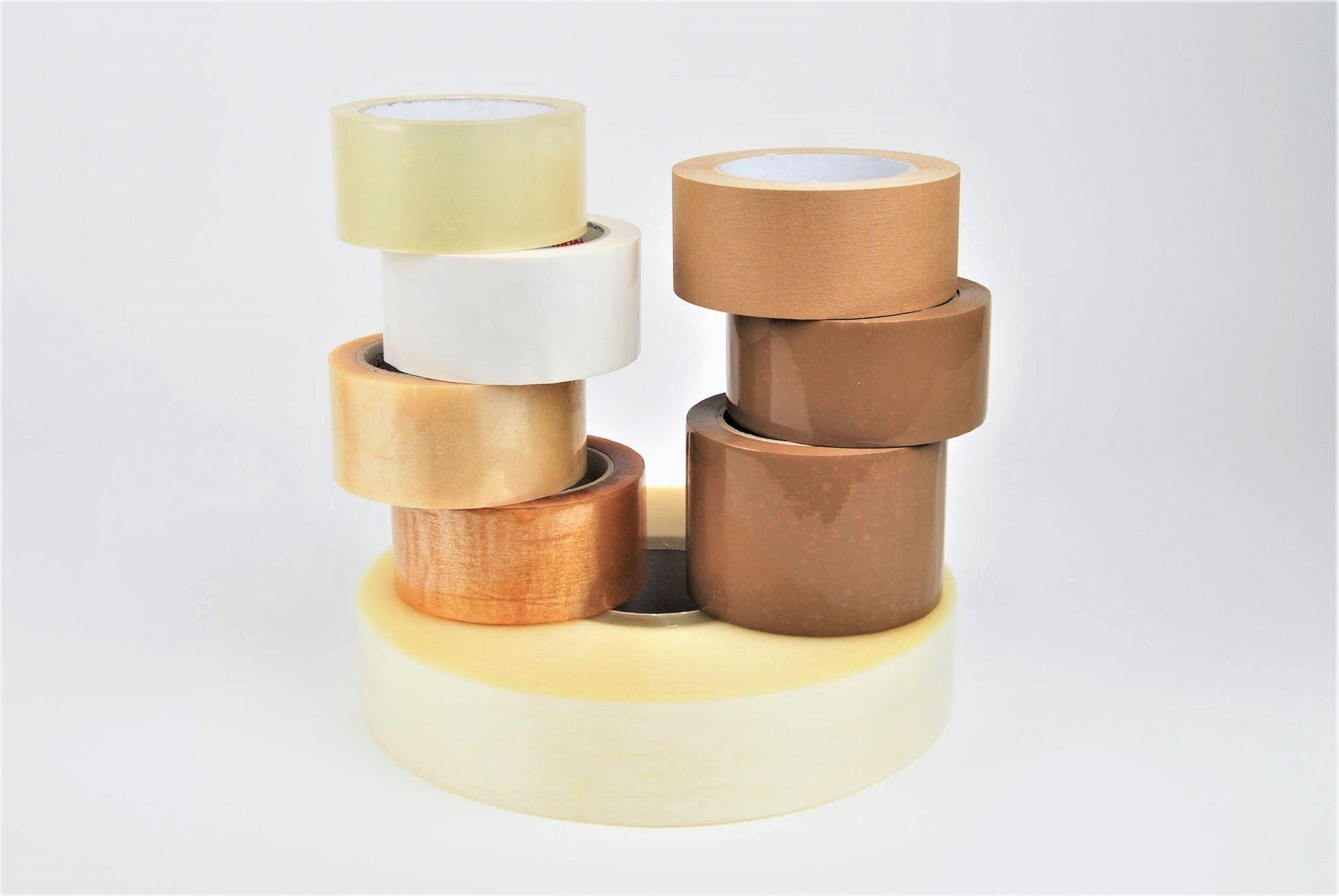 Verpackungsklebebänder aus Folie