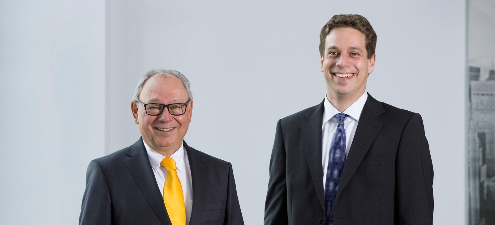 Geschäftsleitung von KIRSCH Verpackungssysteme: Hans-Peter Kirsch und Dennis Kirsch