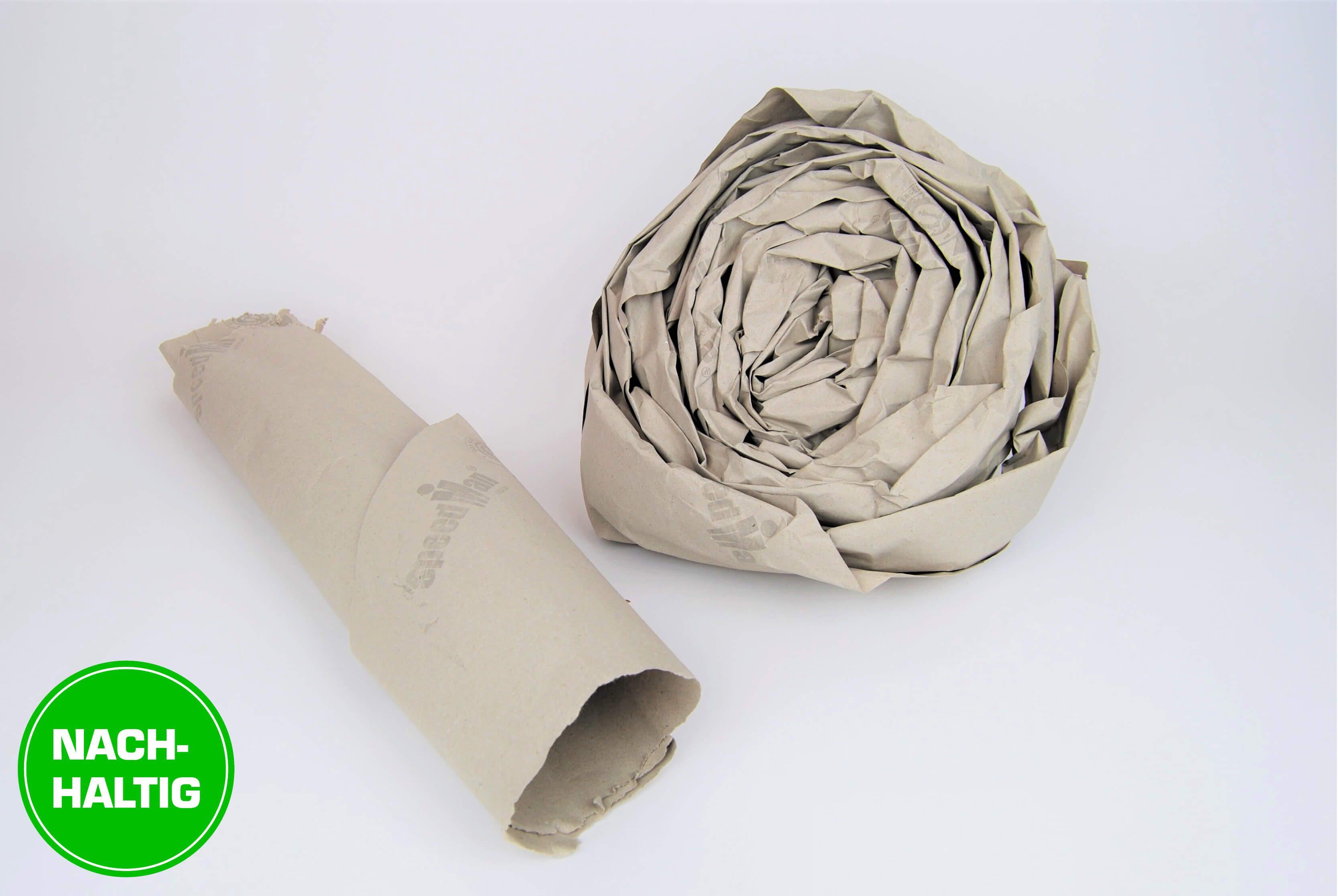 Nachhaltige SpeedMan Papierpolster aus 100% Altpapier