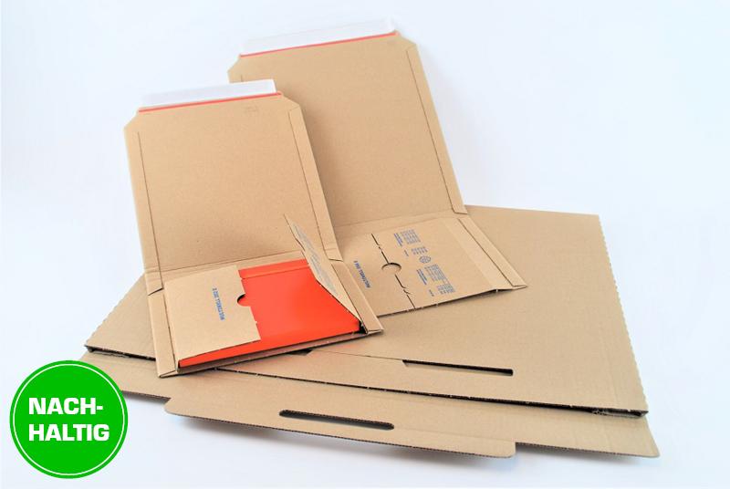 Nachhaltige Buchverpackungen und Kalenderverpackungen für den Postversand