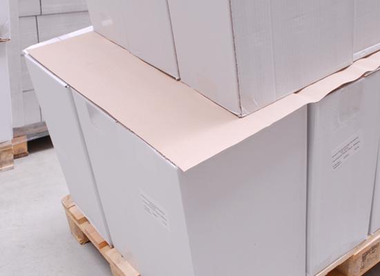 Antirutschpapier zur Ladungssicherung bei Paletten
