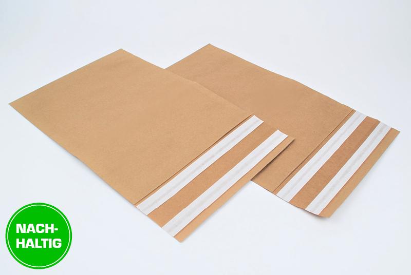 Versandtaschen aus Kraftpapier als nachhaltige Alternative für Folien-Versandtaschen
