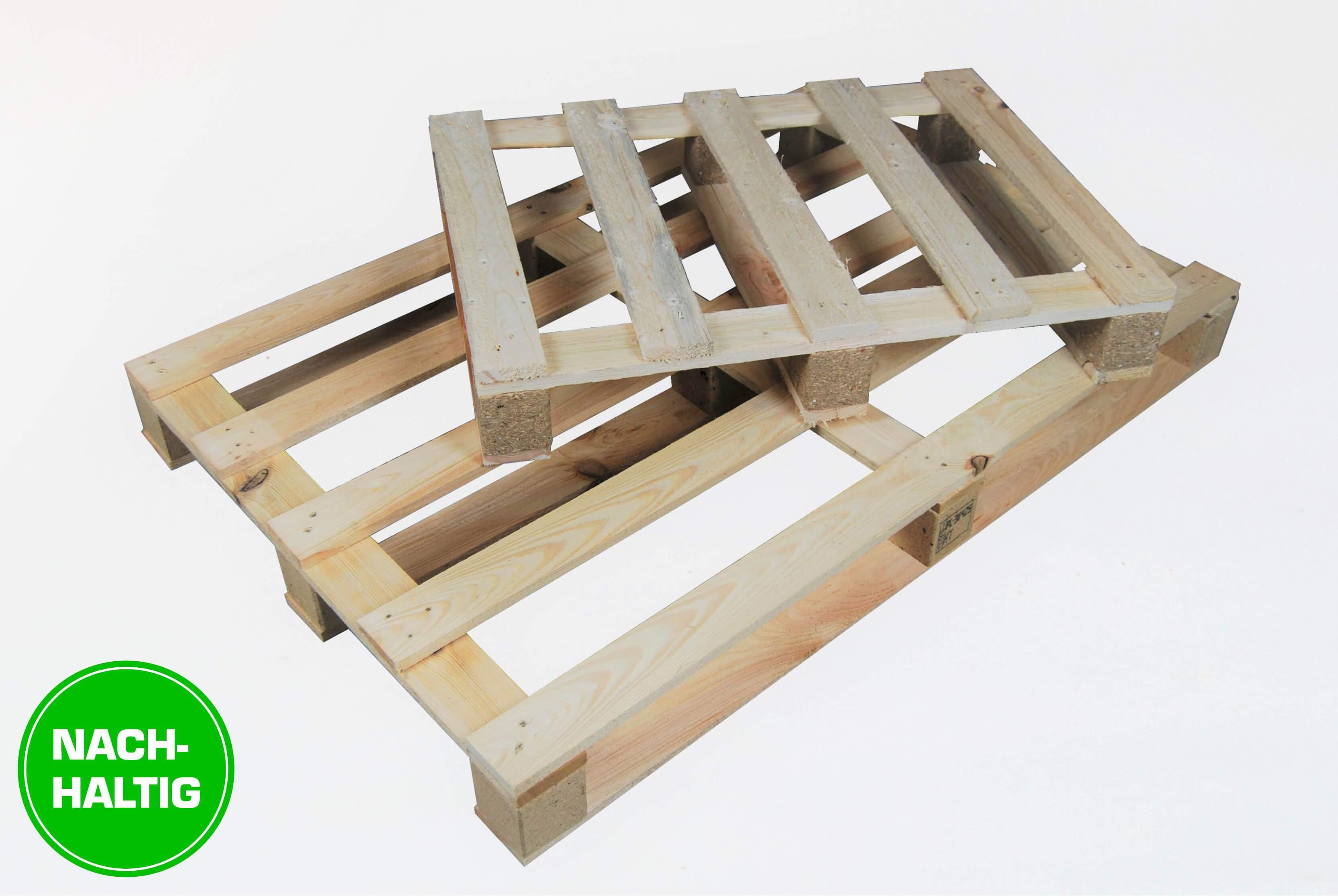 Nachhaltige Holzpalette Einwegpalette