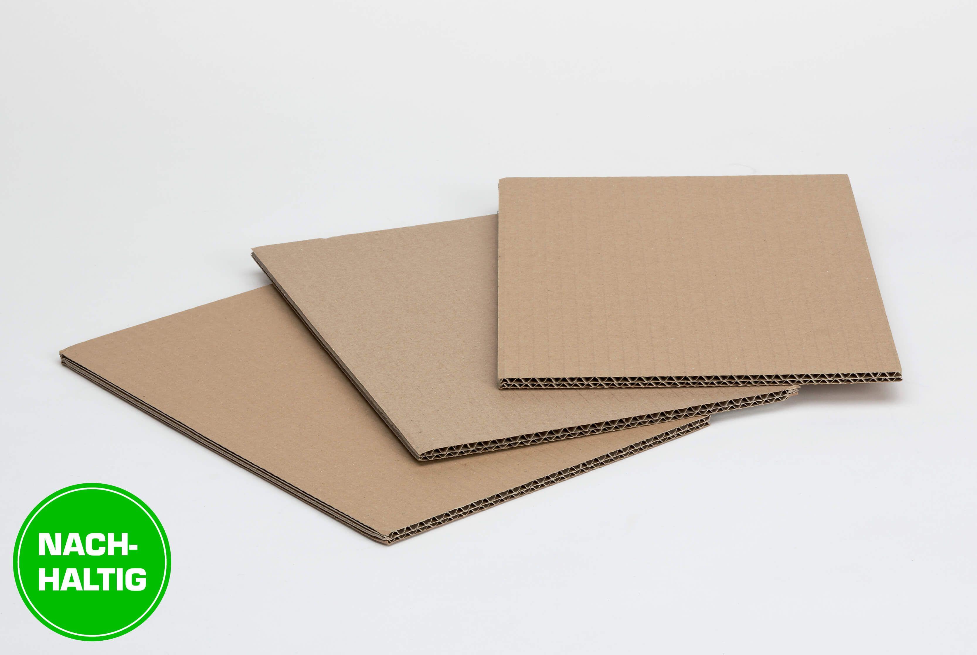Standardzuschnitte aus Karton