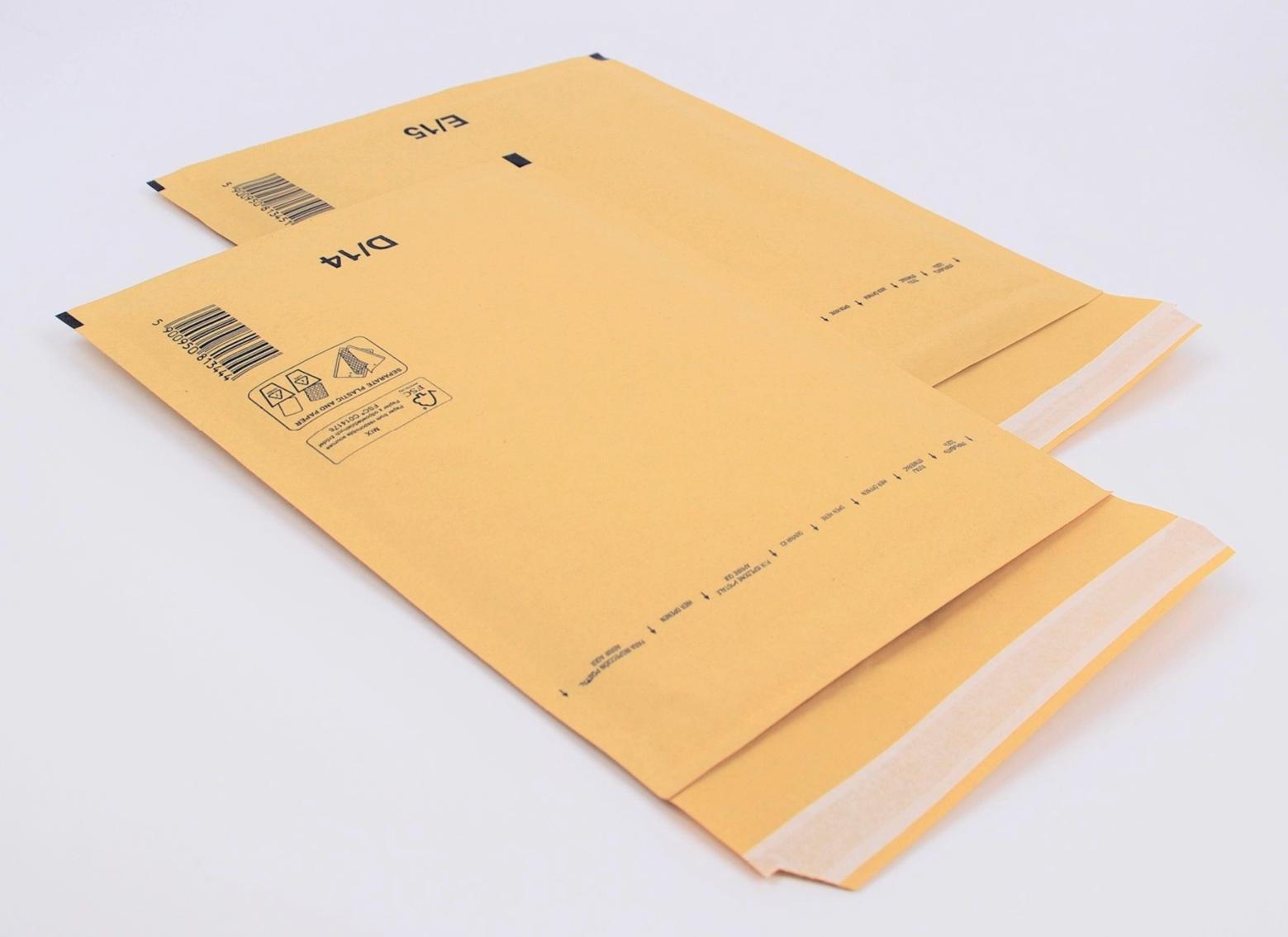 Luftpolstertaschen für Postversand