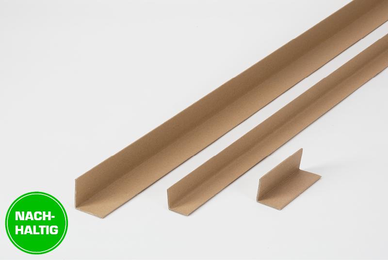 Nachhaltiger Winkelkantenschutz aus Vollpappe