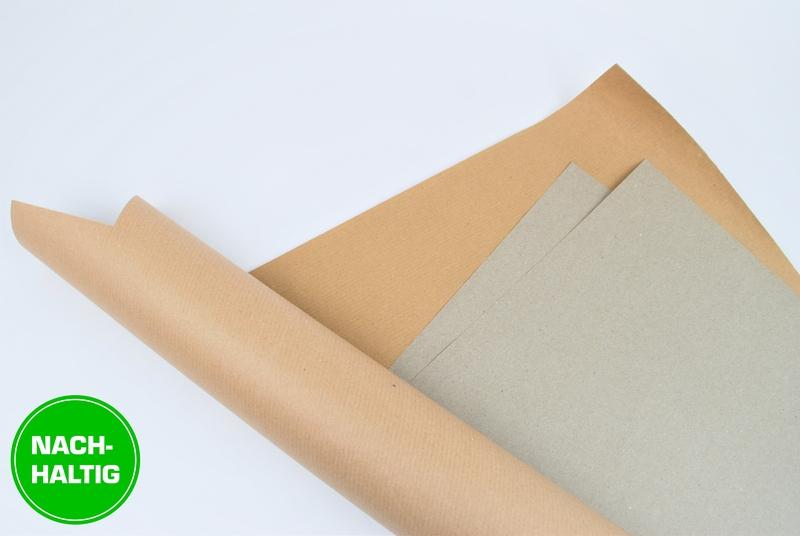 Bogenmaterial Natronmischpapier in beige-brauner Farbe