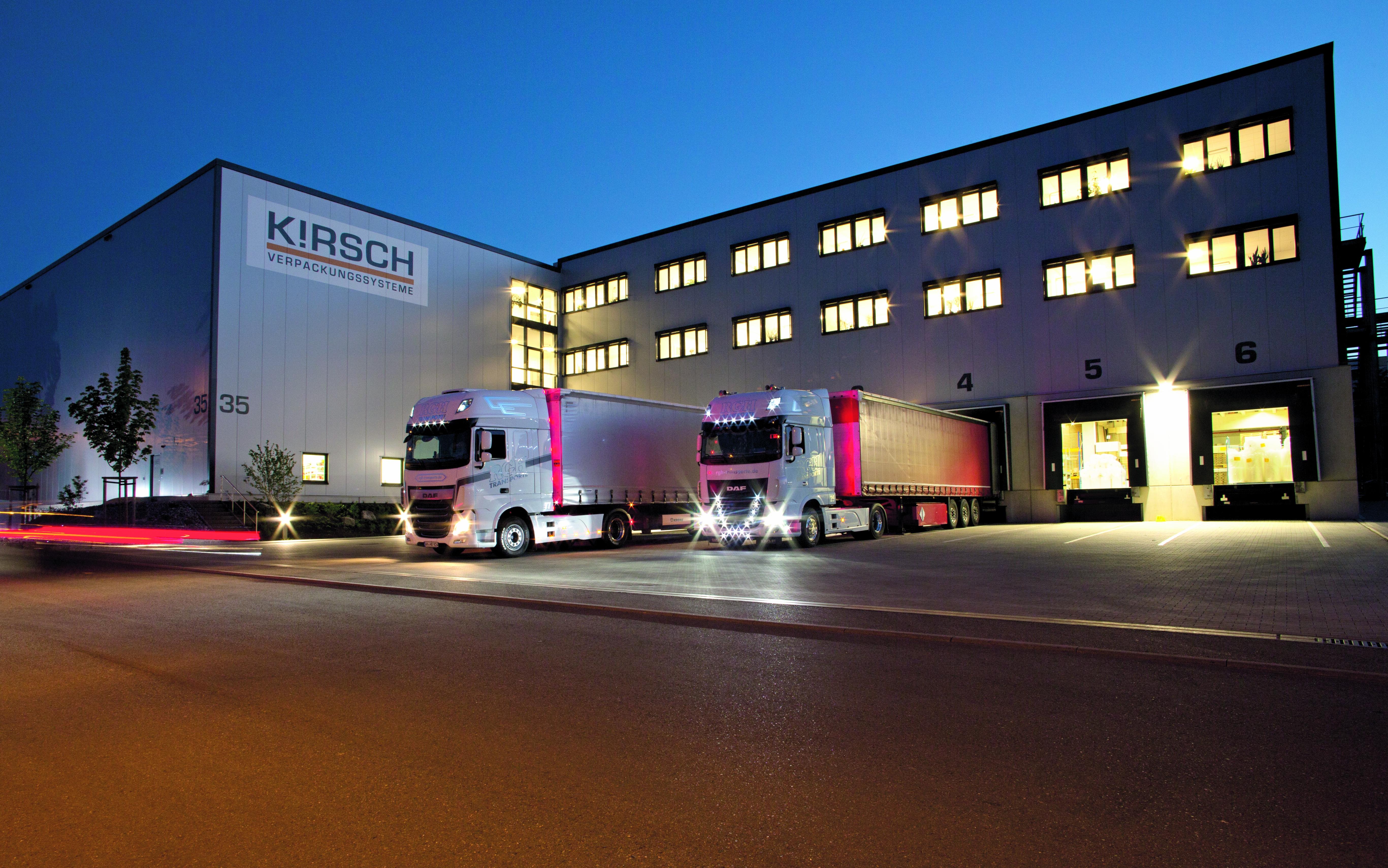 Firmengebäude von KIRSCH